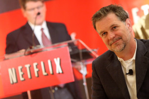 NEW YORK - SEPTEMBER 21:  Netflix CEO Reed Hastings attends the Netflix $1 million Netflix prize event & announces 2nd $1 million challenge at Four Seasons Hotel New York on September 21, 2009 in New York City.  (Photo by Jason Kempin/Getty Images for Sunshine Sachs)